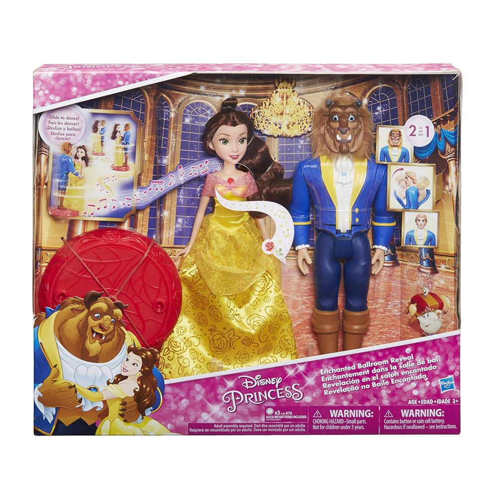 Hasbro Disney Princess Ballo Incantato La Bella E La Bestia